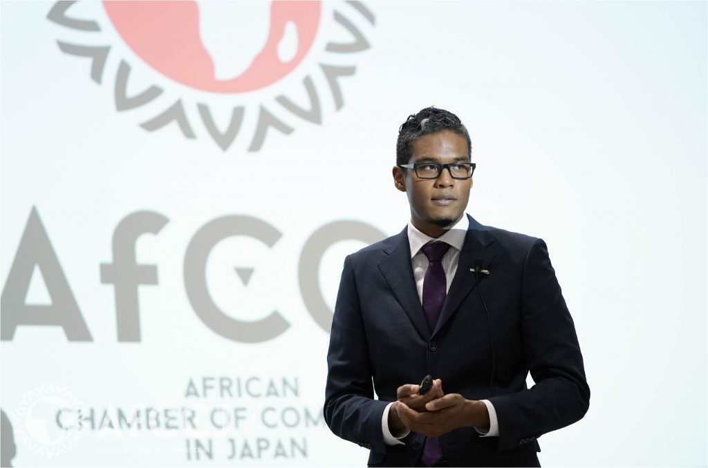 Yannick Gayama, Co-Founder & COO of the AfCCJ